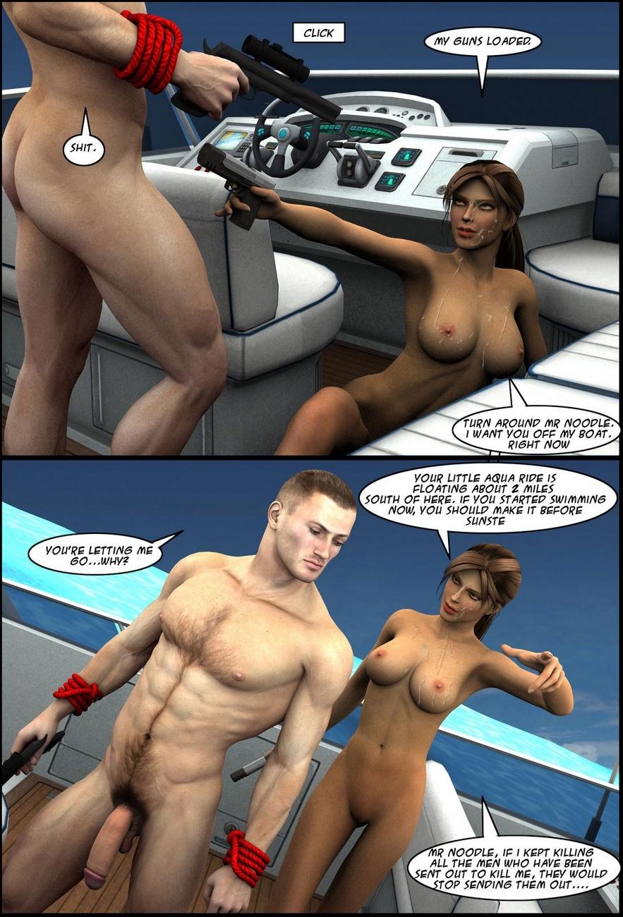 Lara-Croft-In-Ship 18 free sex comic