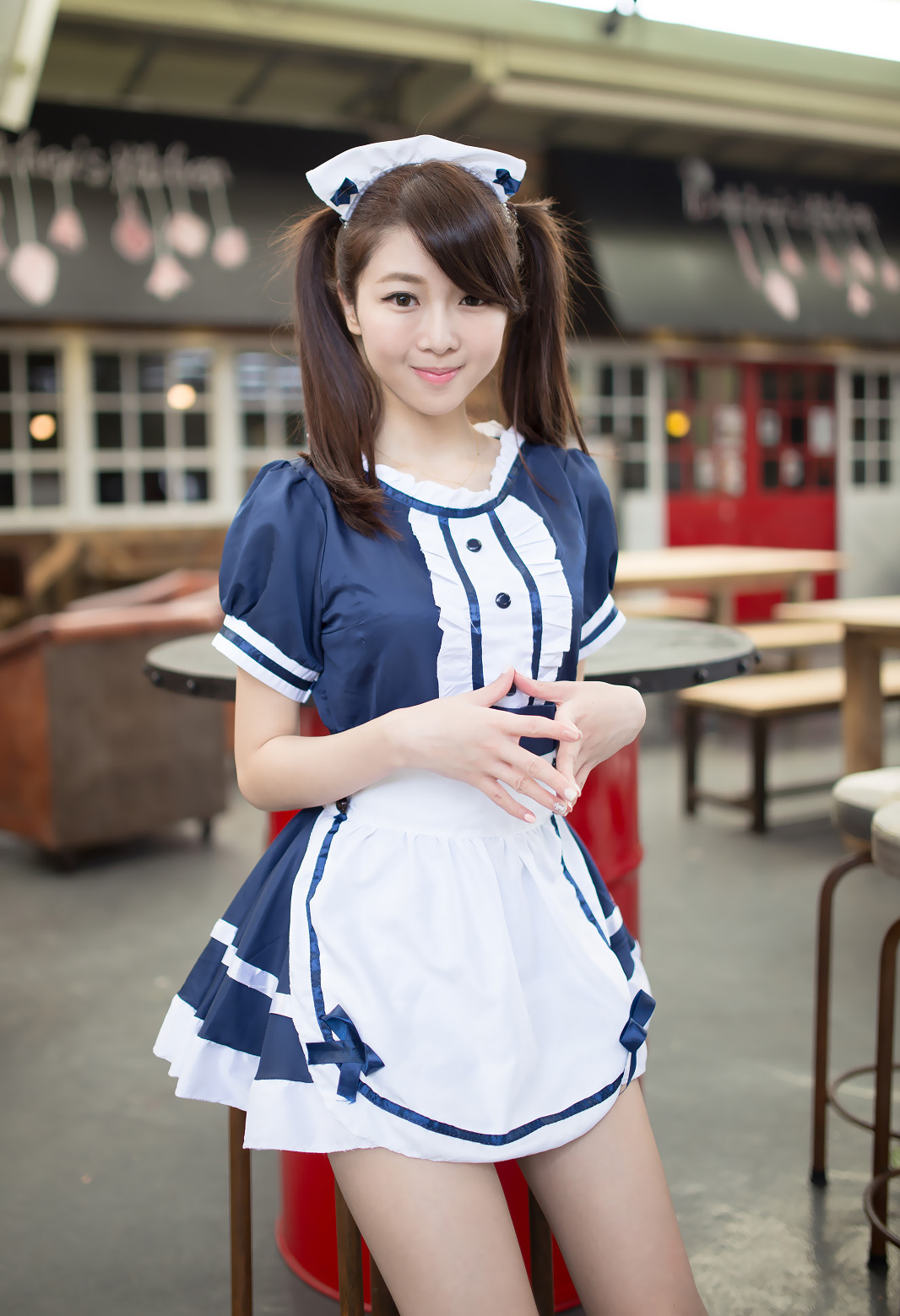 Shen Qiaoqiao 沈乔乔 | Cute Chinese Maid Cosplay - Page 2 ...
