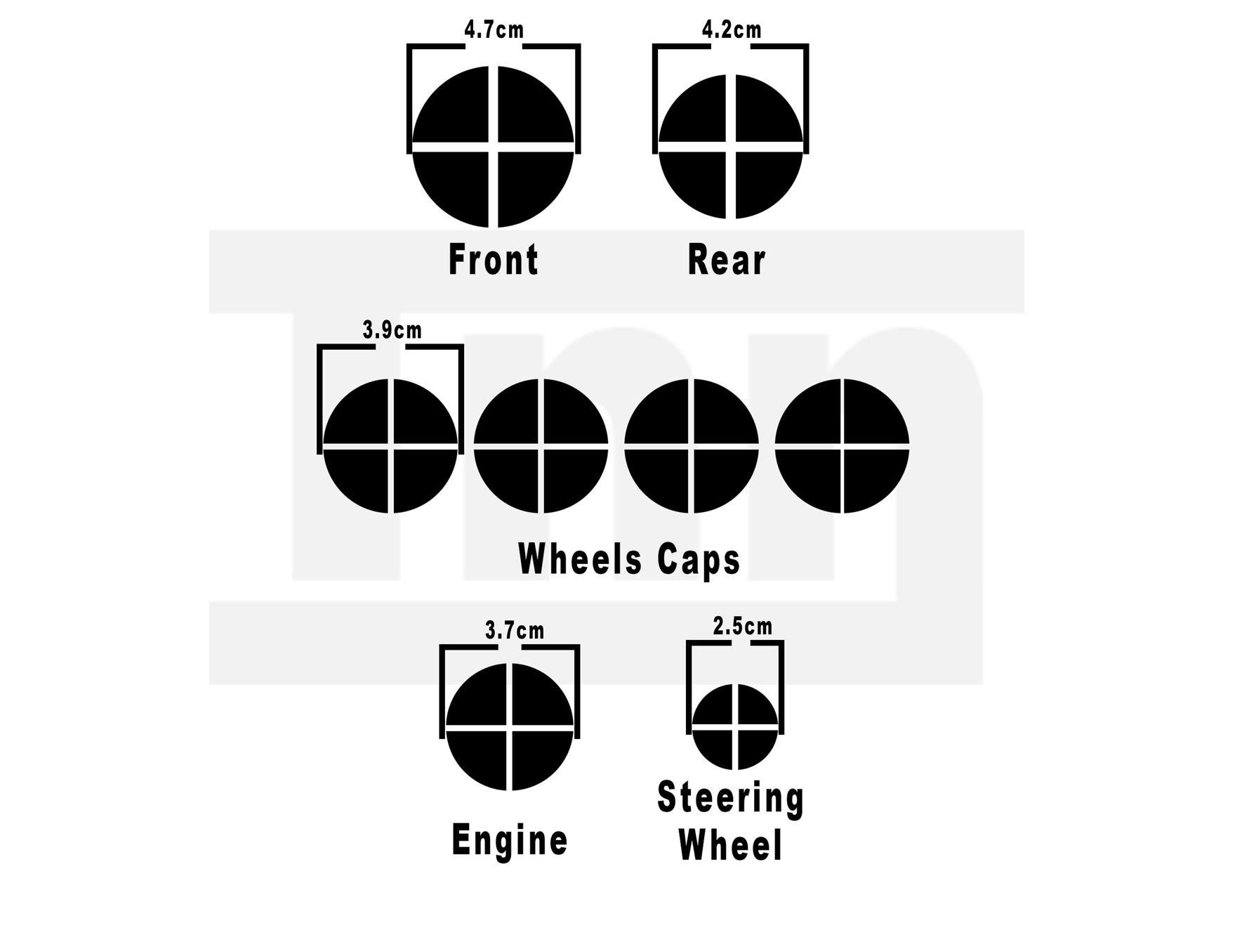 Black Carbon Chrome Bmw E90 92 M3 M5 Badge Emblem Overlay