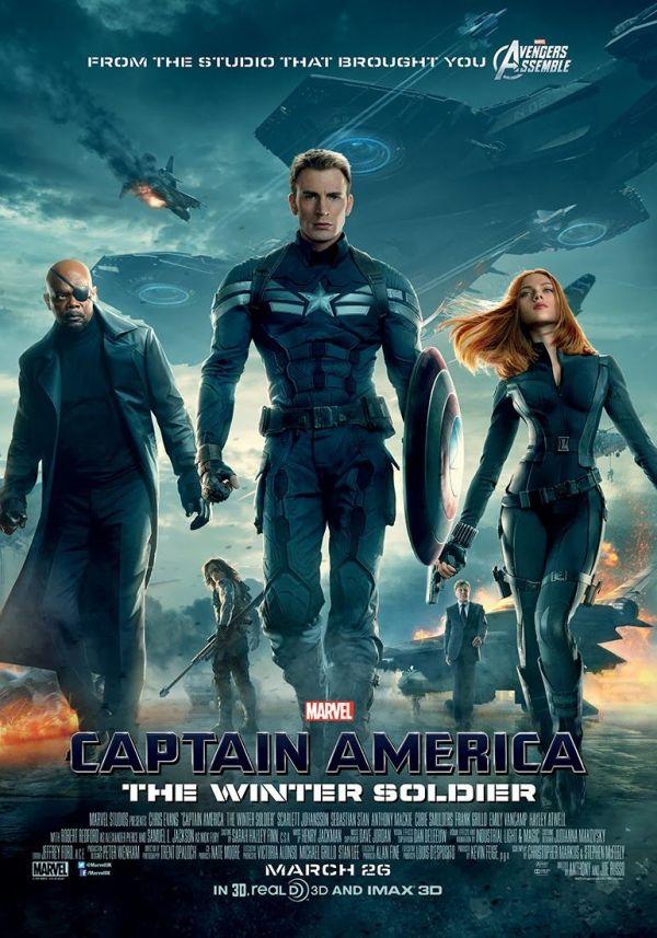 urutan film marvel - 9 - Captain America Winter Soldier