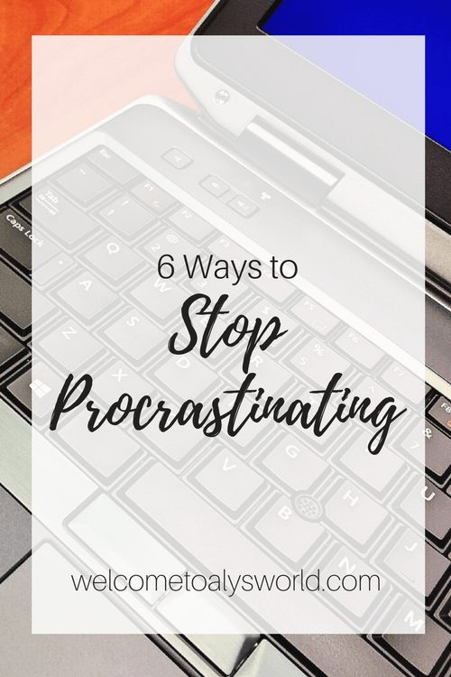 6 Ways to Beat Procrastination | Procrastination is a big problem among college students. It's hard to focus on schoolwork when we have things that are more fun, like TV, movies, music, books, and social media. Because of this, I decided to write a post about how to fight procrastination.