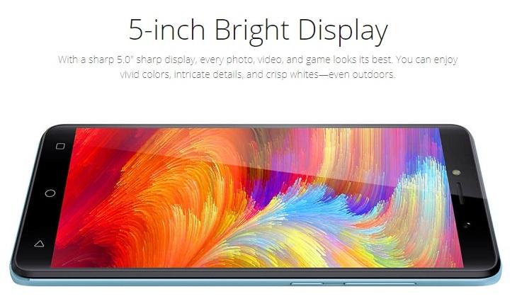 f4 Tecno F2 5 Inch HD (1GB,8GB ROM) Android 7.0 Nougat, 5MP + 2MP Dual SIM 3G Smartphone   Champagne Gold