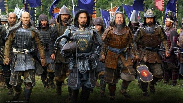 Film The Last Samurai, yang menggambarkan perjuangan para Samurai menegakkan tradisi menghadapi teknologi barat
