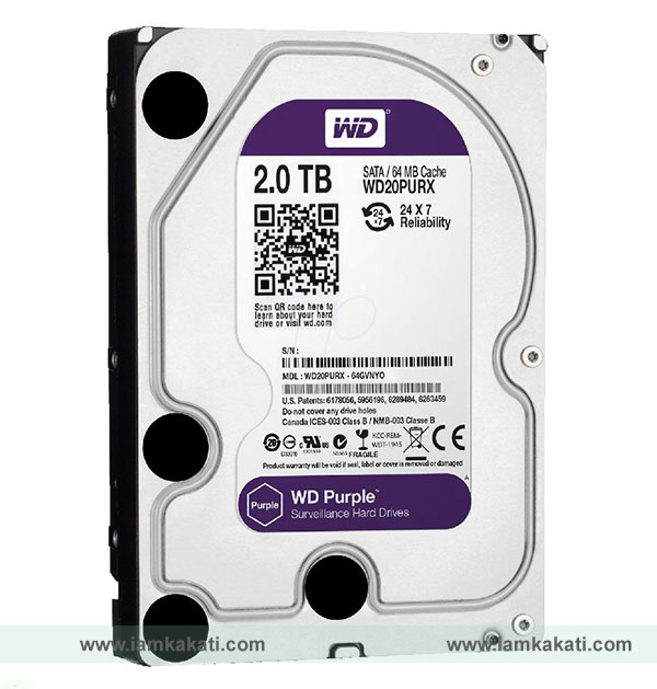 purple WD Hard drive disk price