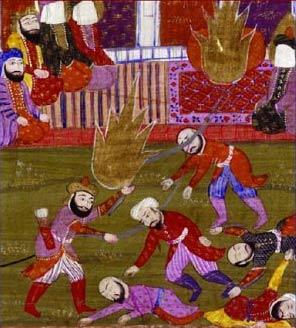 Lukisan abad 19 tentang hukuman terhadap Banu Qurayza
