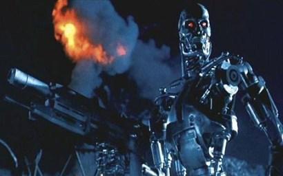 Prajurit mesin yang menggempur manusia dalam film Terminator
