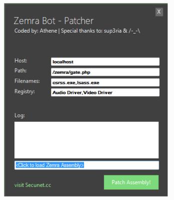 Zemra Botnet Panel+SQL+Builder