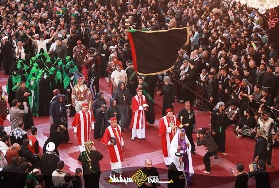 Dalam Ziarah tahunan di Karbala, penganut Kristen, Zoroaster dan Hindu ikut berziarah ke makam Husein