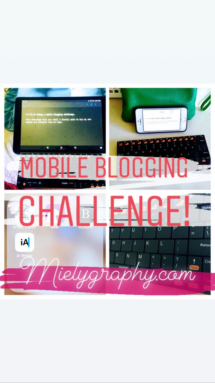 Mobile Blogging Challenge