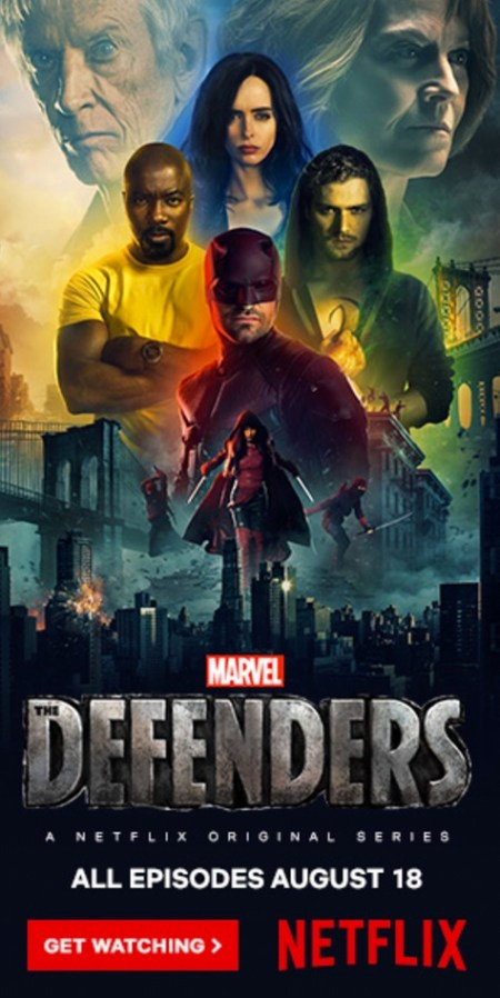 The Defenders op Netflix België