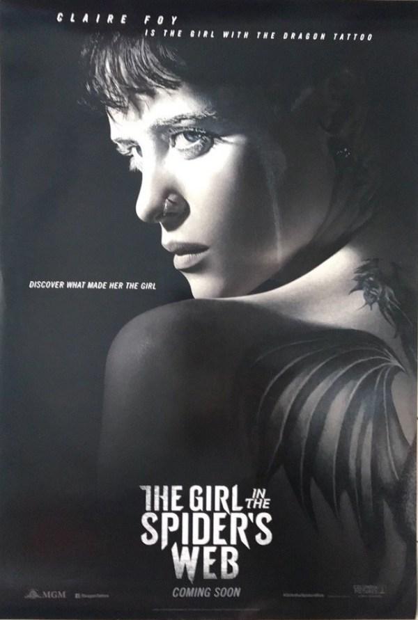 La chica en la telaraña