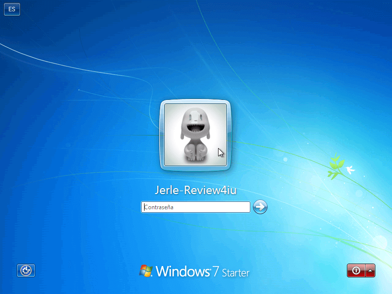 Pantalla de Inicio de Sesion Windows 7 - Borrar clave en Windows 7