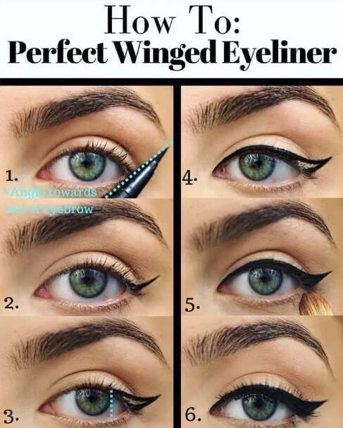eyeliner methods of makeup