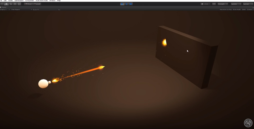Unity 2018 - Game VFX - Projectile/Bullet Raycast Tutorial   CGHOW