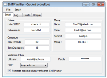 SMTP Verifier And Checker