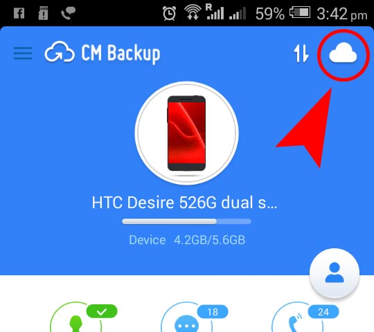backup android phone
