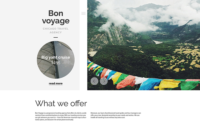 Traveling WordPress Theme best premium WordPress themes for your blog or website.