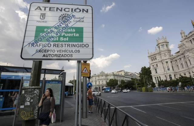 EQUO, IU y Podemos denuncian en la UE el veto del PP al plan Madrid Central