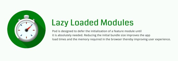 Lazy Loaded Modules