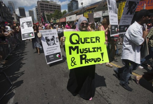 Parade mendukung hak Muslim Gay