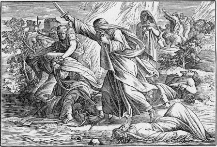 Pembunuhan para Nabi Baal atas perintah Nabi Elia