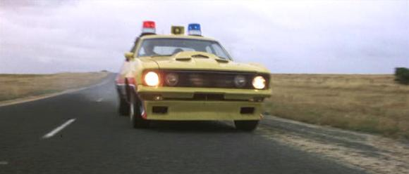 "1973-76 Ford Falcon yellow ""Interceptor"" (Mad Max) clones ... Kick it in the guts, Harry."