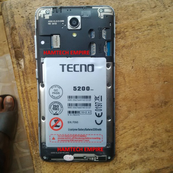 TECNO BA510 MT6735 ANDROID 5 1 STOCK ROM FIRMWARE - Needromng
