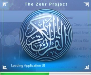 Zekr, program Qur'an gratis