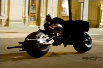 Bahkan motornyapun harus canggih