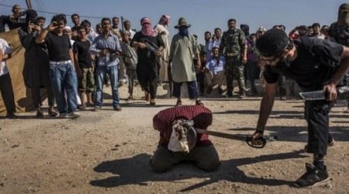 Pemancungan di depan umum oleh ISIS