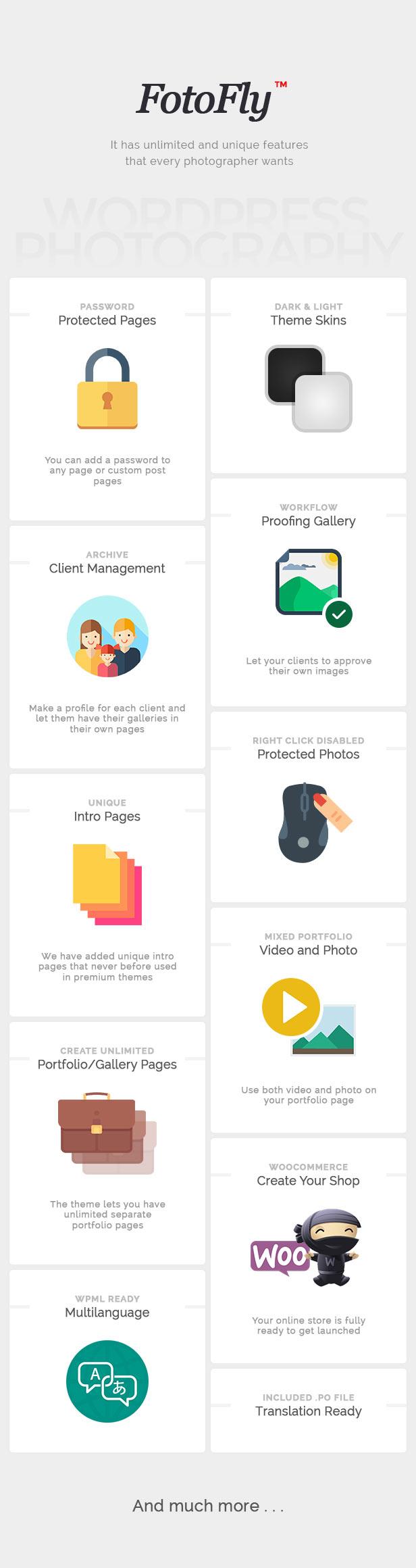 Fotofly - Photography WordPress Theme 10