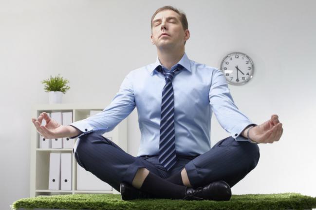 La relajación para evitar el estrés.