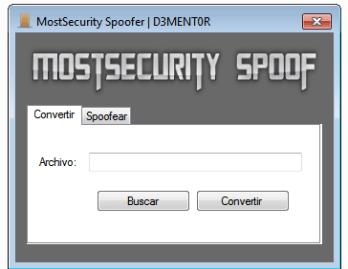 MostSecurity Spoofer