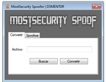 MostSecurity Spoofer