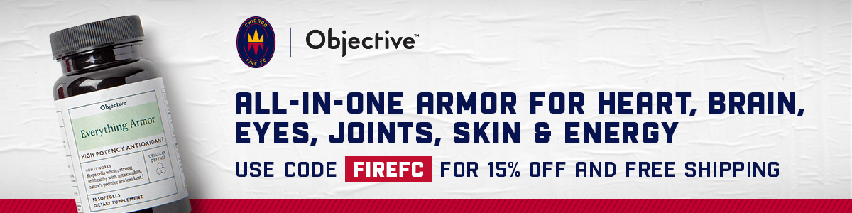 CFFC | Objective - ALL-IN-ONE ARMOR FOR HEART, BRAIN, EYES, JOINS, SKIN & ENERGY | USE CODE FIREFC FOR 15% OFF AND FREE SHIPPING