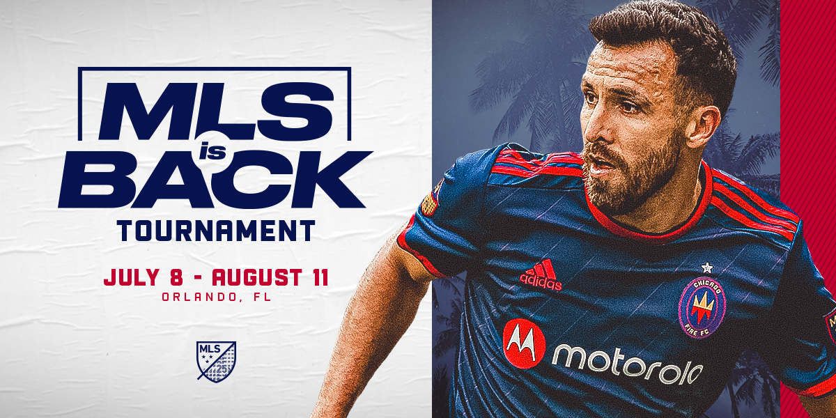 MLS IS BACK TOURNAMENT | JULY 8 - AUGUST 11 | ORLANDO, FL