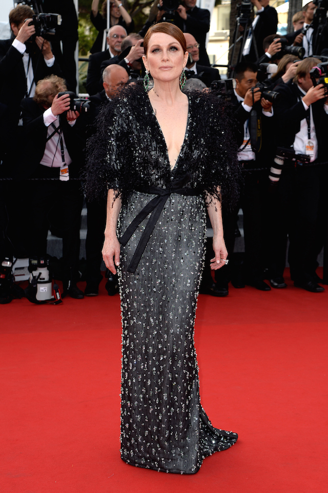 "CANNES, FRANCE - MAY 13:  Actress Julianne Moore attends the opening ceremony and premiere of ""La Tete Haute"" (""Standing Tall"") during the 68th annual Cannes Film Festival on May 13, 2015 in Cannes, France.  (Photo by Pascal Le Segretain/Getty Images)"