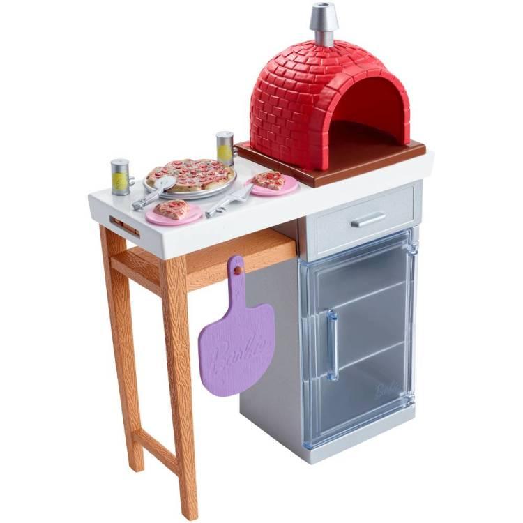 Barbie meubels en accessoires pizzaoven