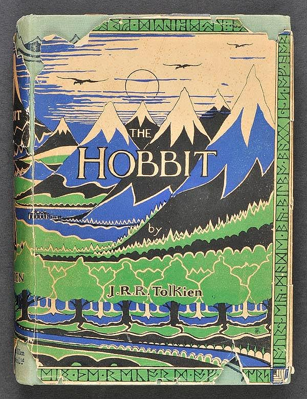 Tolkien (J.R.R.). - The Hobbit or There and Back Again, 1st ed., 2nd impression, 1937,