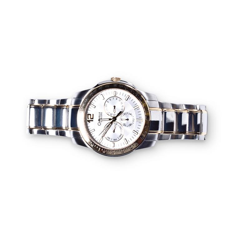 CARAVELLE BY BULOVA LADYS CRYSTAL WATCH