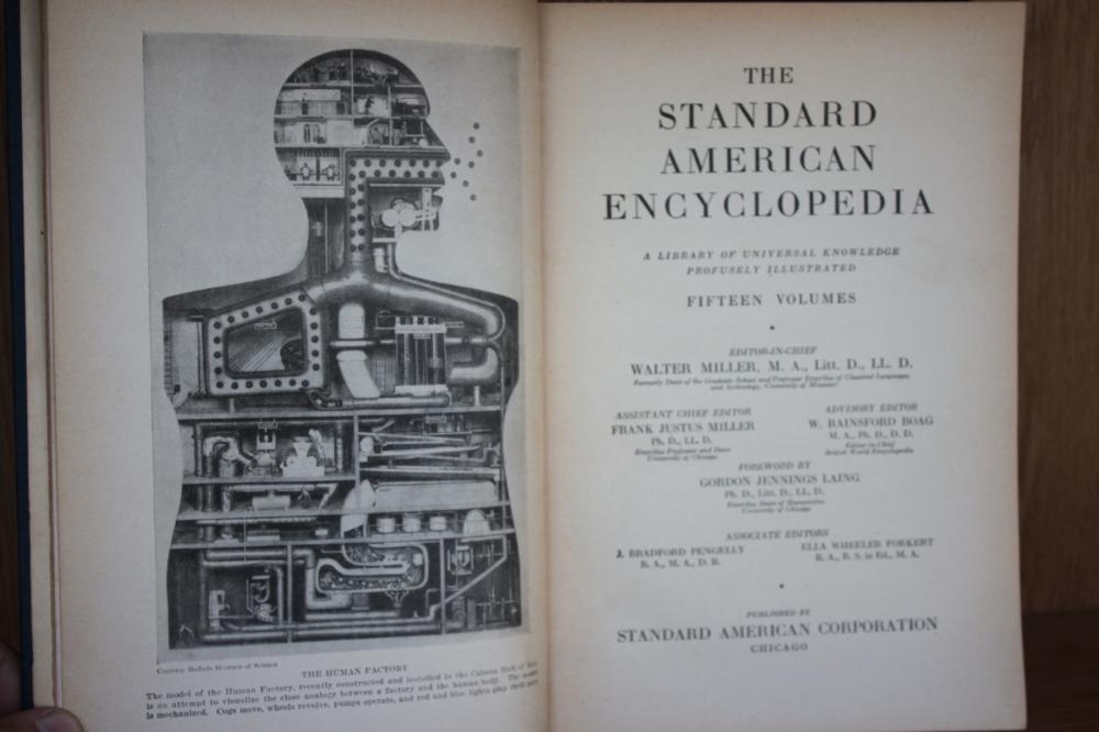 Book The Standard American Encyclopedia Volume 6
