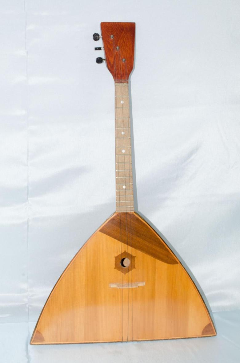 "soviet made ""artekil"" balalaika, made in kazakhstan, c. 1983"