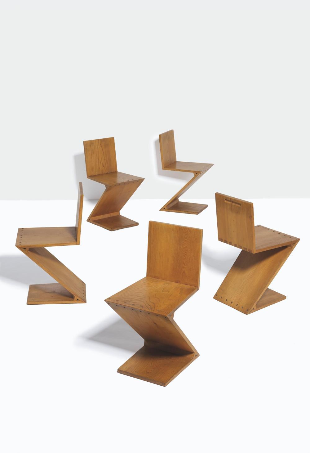 Prodotte da giorgetti, si tratta di un set di 6 sedie con schienale alto realizzate in legno di faggio lucido e ciliegio chiaro. Gerrit Rietveld Paintings Artwork For Sale Gerrit Rietveld Art Value Price Guide