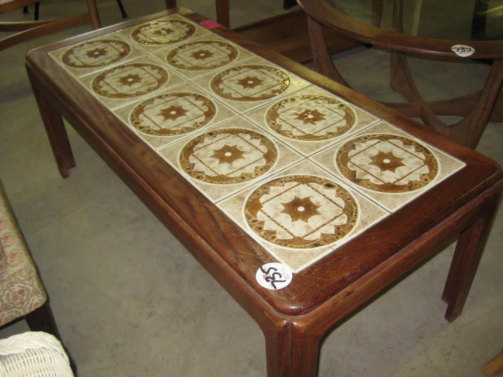 g plan tile top coffee table