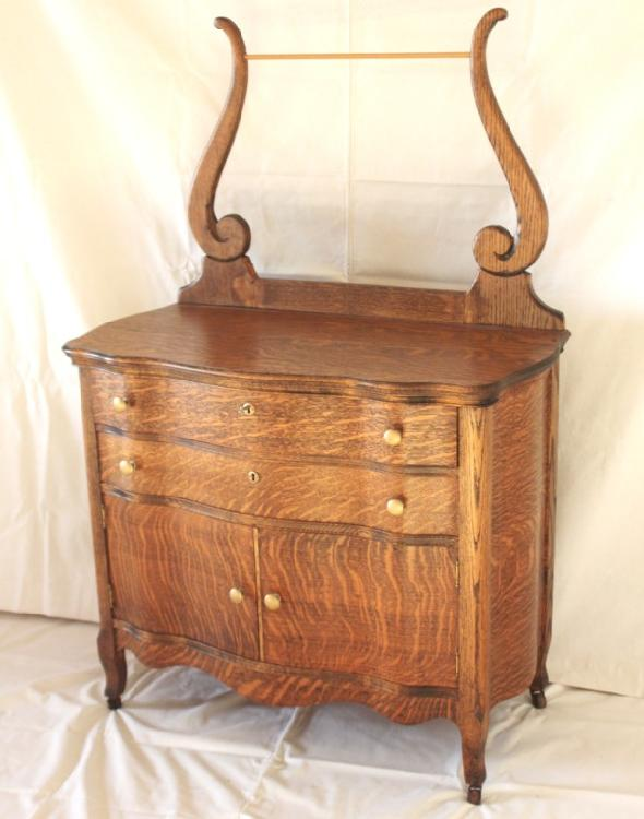 l325p antique american oak dry sink