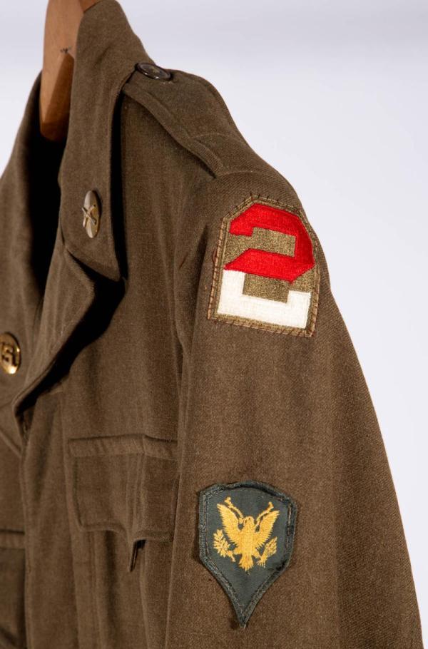 WORLD WAR TWO / KOREAN WAR ERA U.S. ARMY OVERCOAT ...