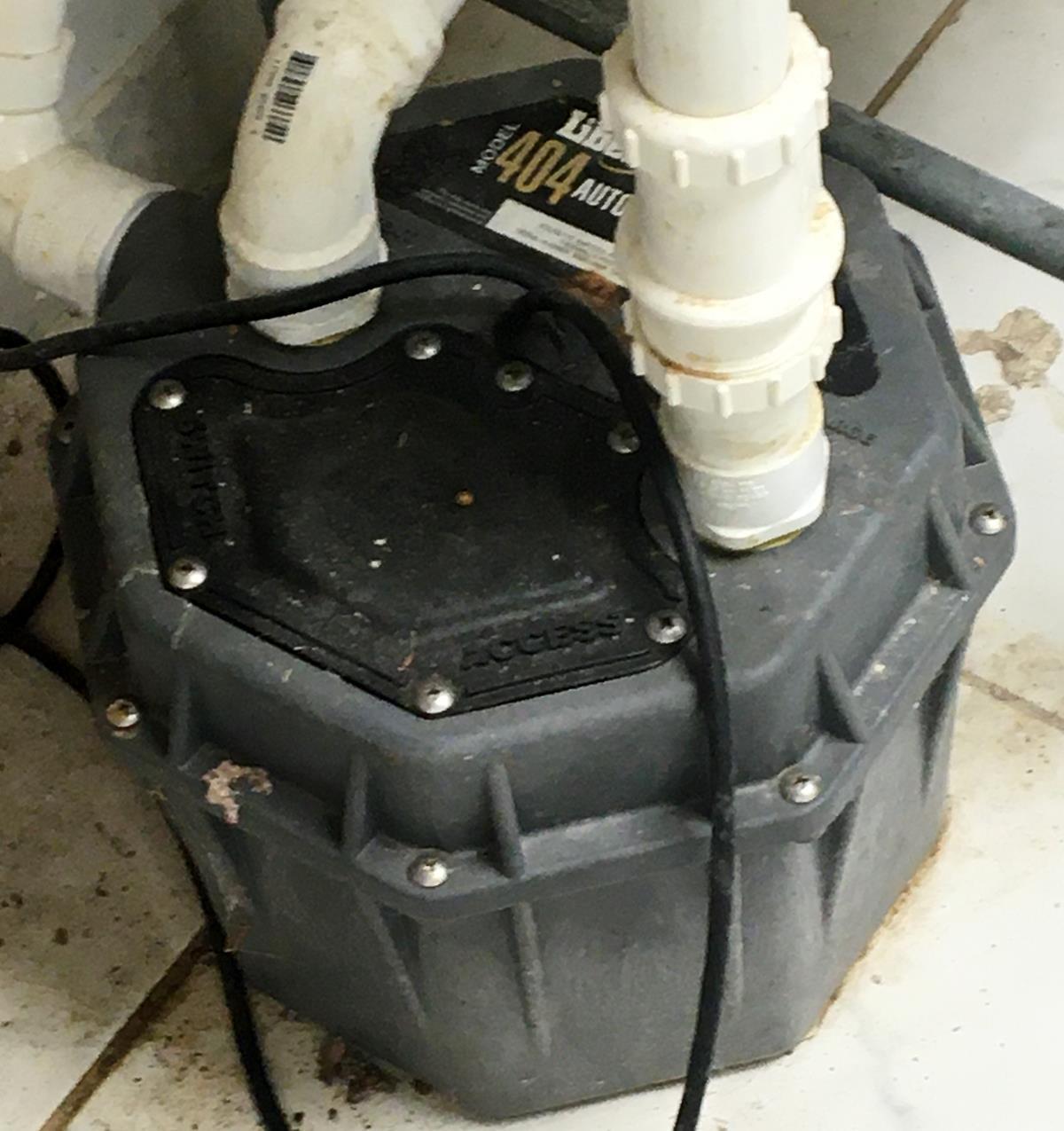 liberty pumps model 404 sink drain pump