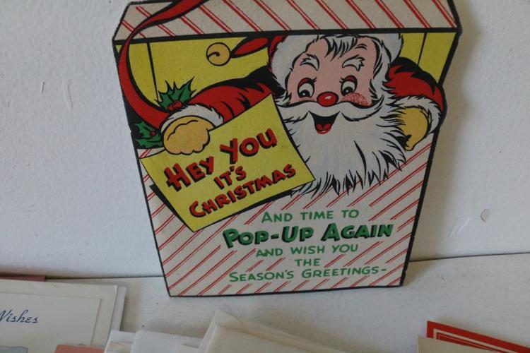 Huge Lot Of Vintage Greeting Cards