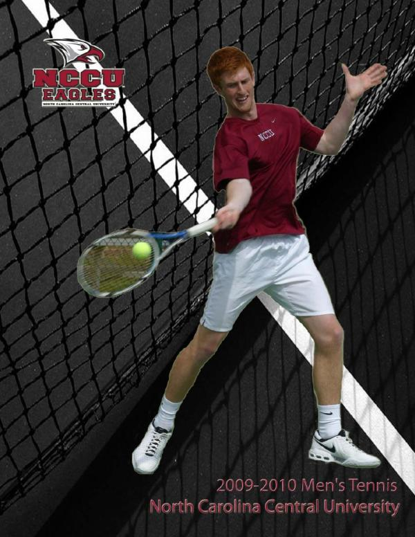 2009-10 NCCU Men's Tennis Information Guide by North ...