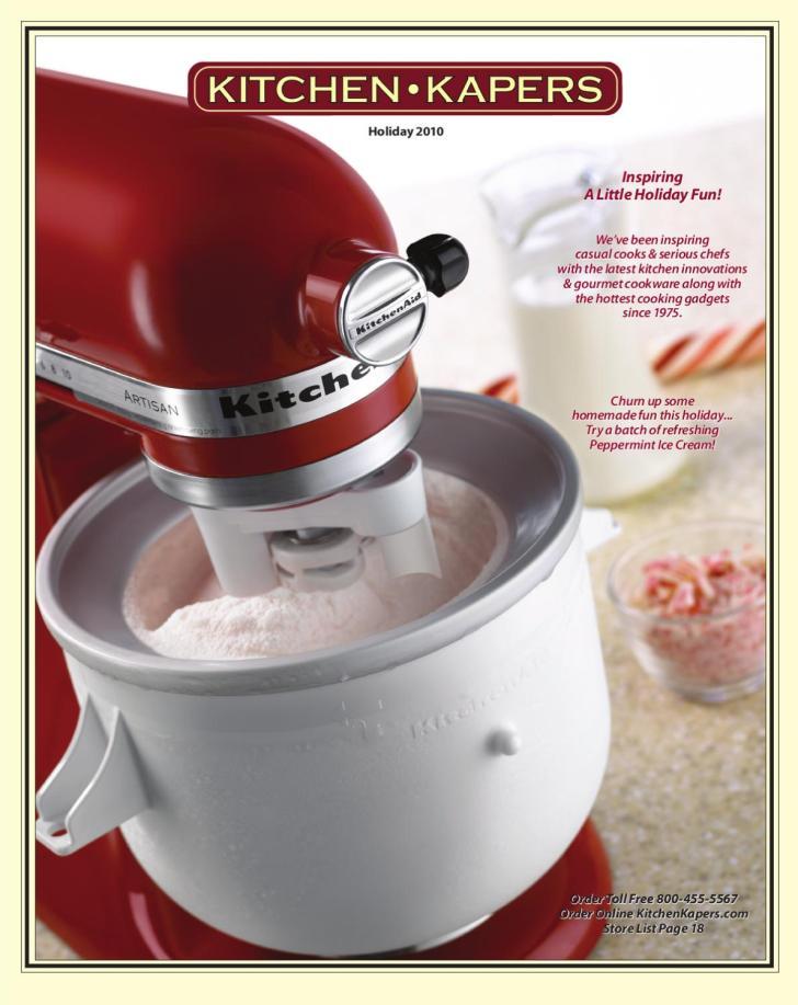 Kitchen Kapers Holiday Catalog 2010 Issuu